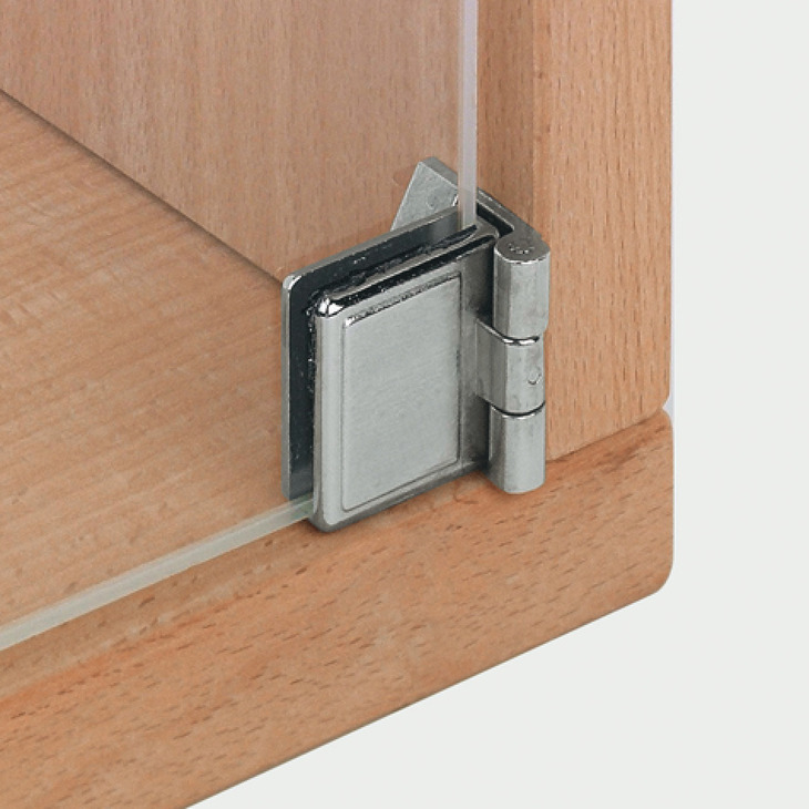 Bisagra para puerta de cristal para montaje de puerta sin taladro en el vidrio montaje enrasado - Montaje de puertas ...