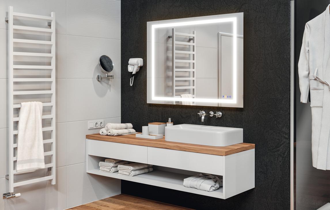 Espejo de cuarto de baño,Häfele Aquasys, Multifuncional ...