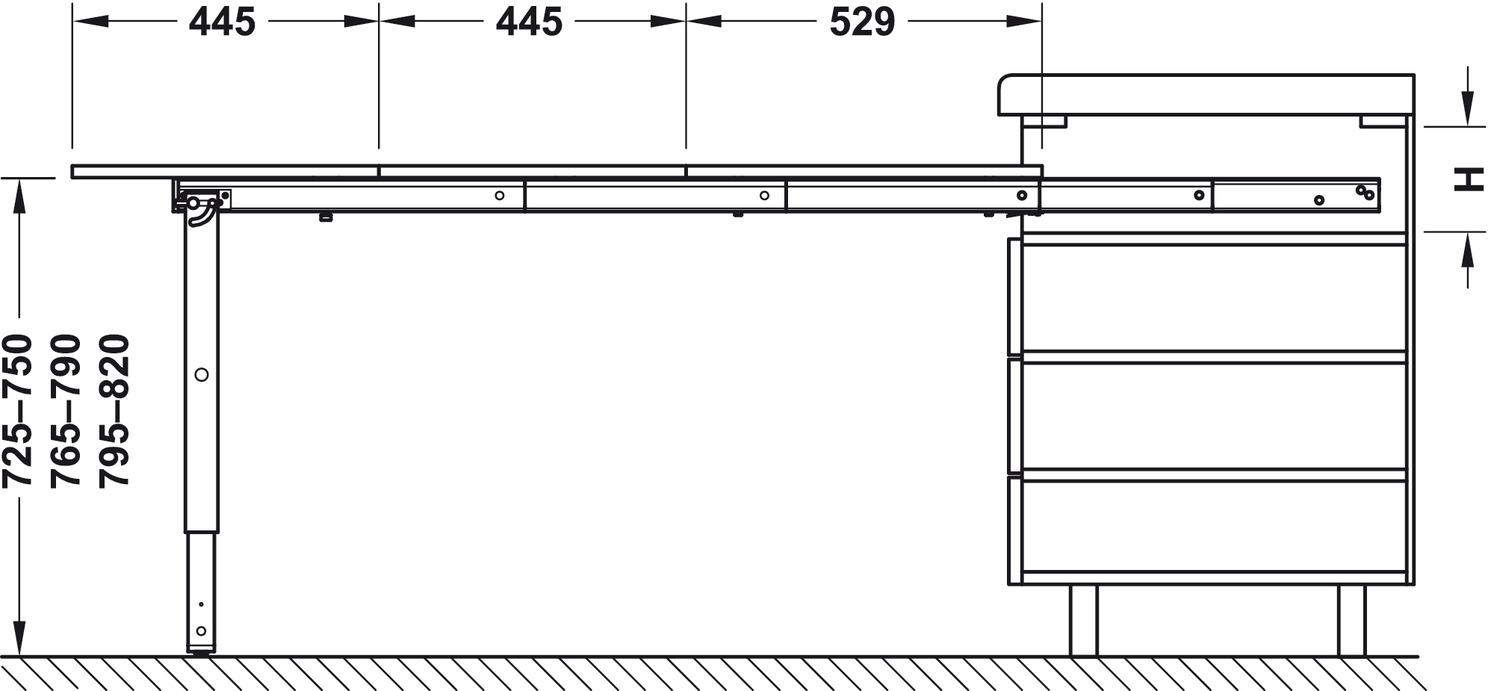 Herraje Mesa Y Pata Plegable con Tablero Para Extraíble Ok8P0wnX